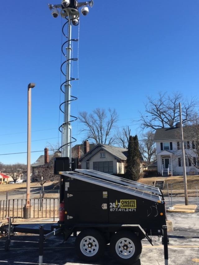 24/7 Onsite Cameras | Construction Mobile Surveillance